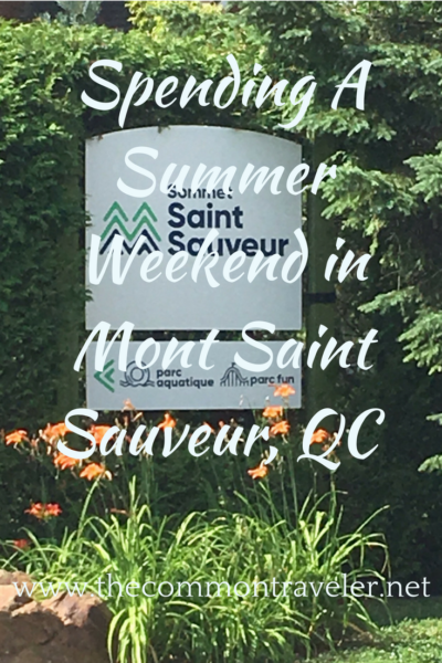 Mont Saint Sauveur in Canada is a ski destination. But there is a lot to do if you're spending a weekend in the area during the summer too!