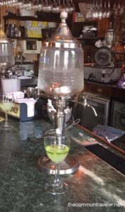 French Quarter  absinthe drink