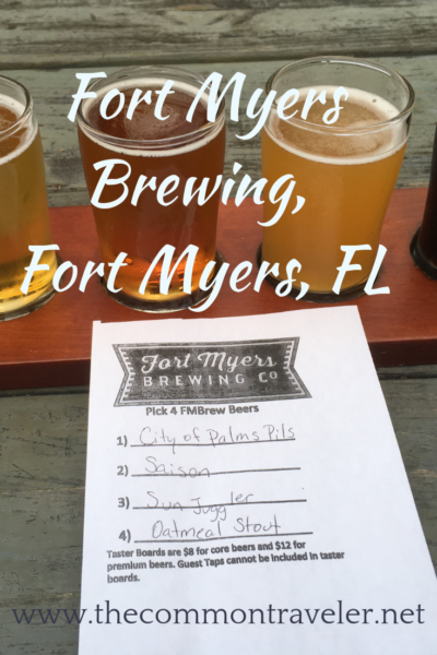 Visiting Southwest Florida? Check out Fort Myers Brewing Company for delicious craft brews and food trucks.