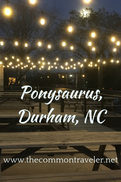 Beer for beer lovers and with a heart. Ponysaurus Brewing in Durham, NC - a meeting place. #craftbeer
