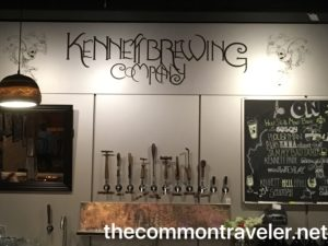 Kennett Brewing Company signs & taps