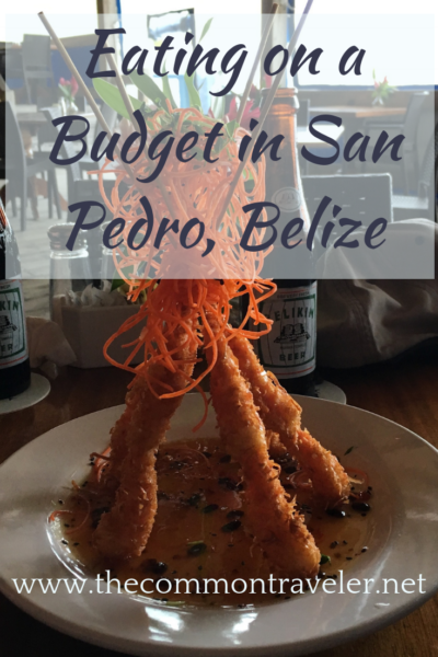The Best Restaurants in San Pedro Belize featured by top travel blog, The Common Traveler: Going to San Pedro, Belize but want to eat on a budget? Find some great deals and treats, plus places to avoid. #sanpedro #belize