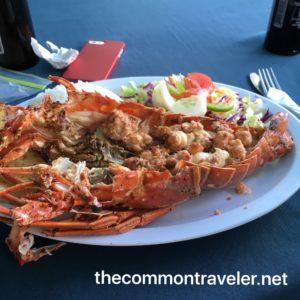 Belize Lobster tail