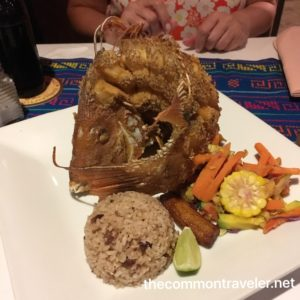 The Best Restaurants in San Pedro Belize featured by top travel blog, The Common Traveler: Food in San Pedro fried fish