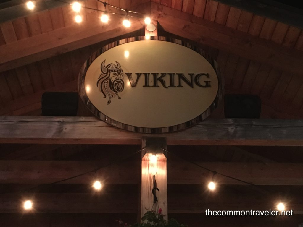 Mont Saint Sauveur The Viking ride