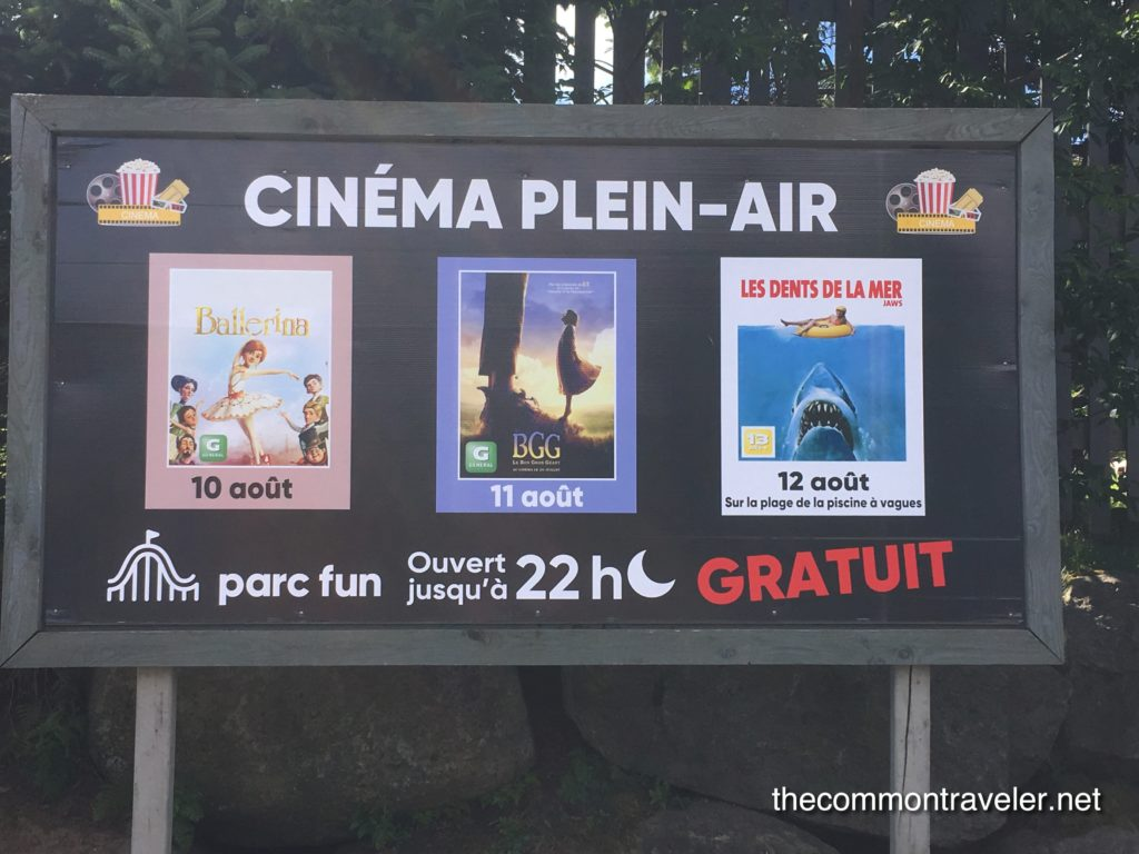 Mont Saint Sauveur Cinema Plein Air