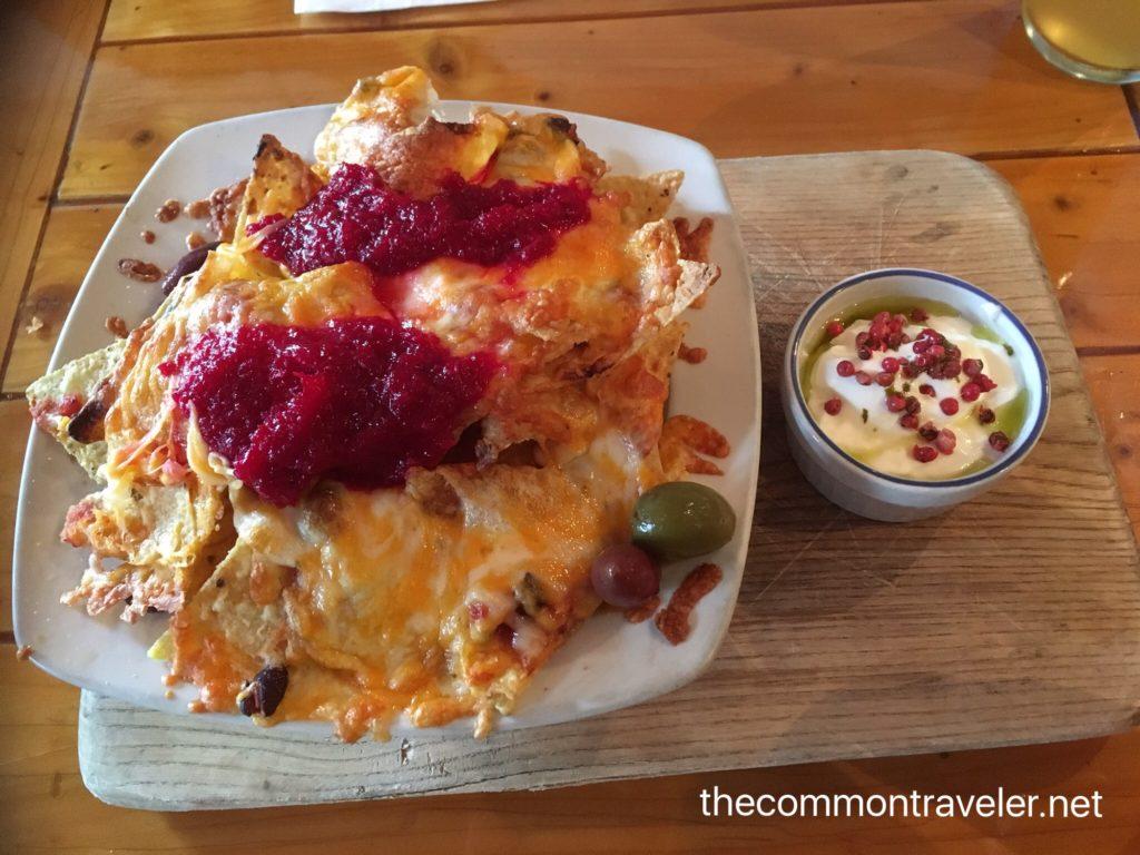 Le Baril Roulant nachos