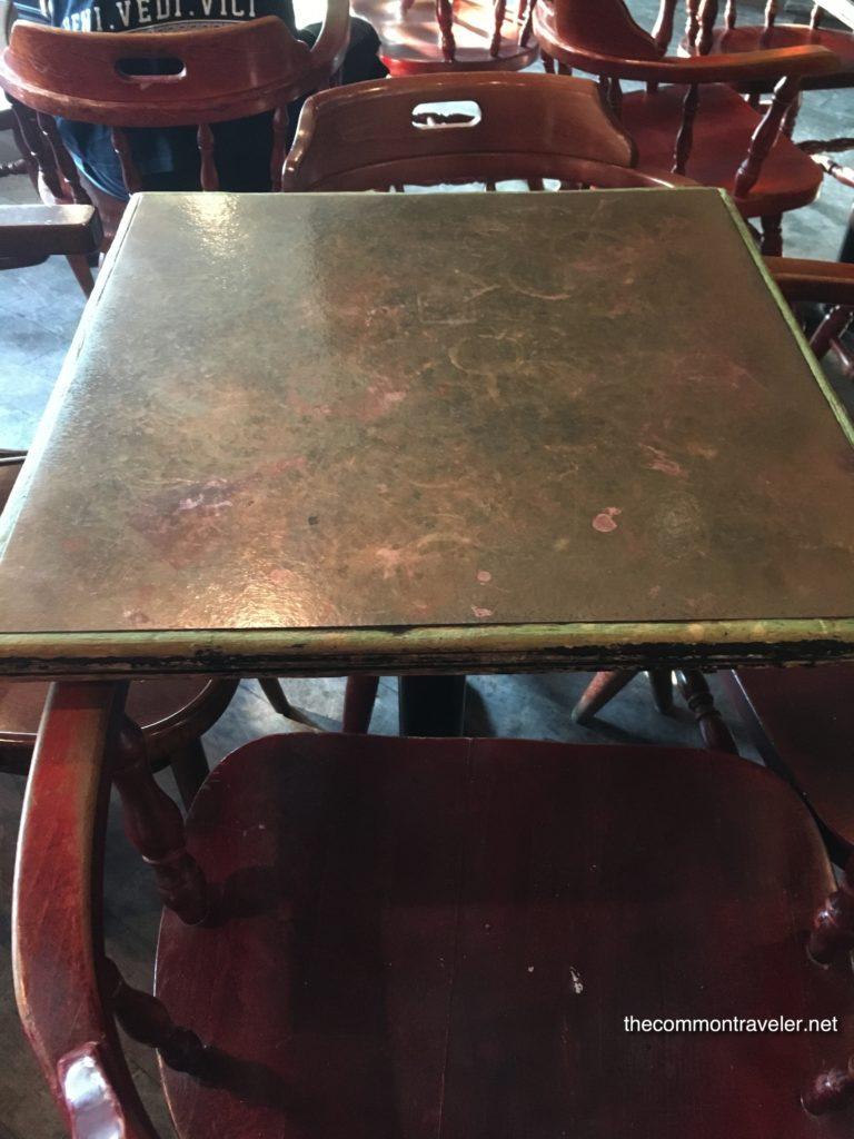 Dieu du Ciel copper table