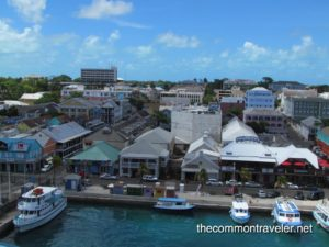 Top 5 Reasons to Go on a Reunion Cruise featured by top travel blog, The Common Traveler: reunion Nassau, Bahamas view from ship