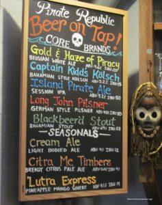 Pirate Republic Brewing Pirate Republic Beer Menu