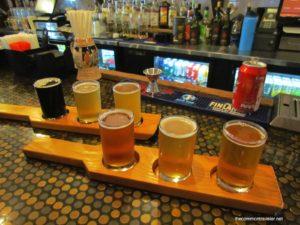 Pirate Republic Brewing Pirate Republic beer flights