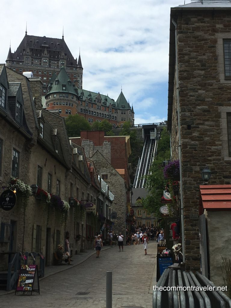 Old Quebec Quebec City funiculaire