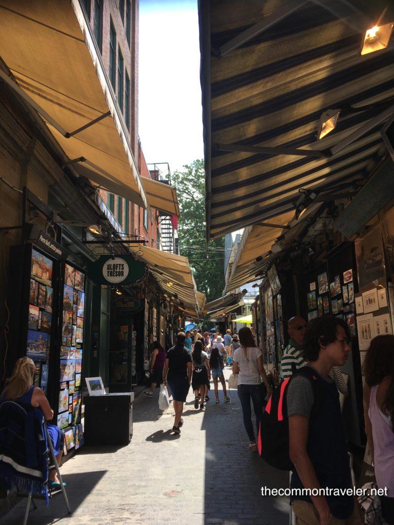 shops in Old Quebec