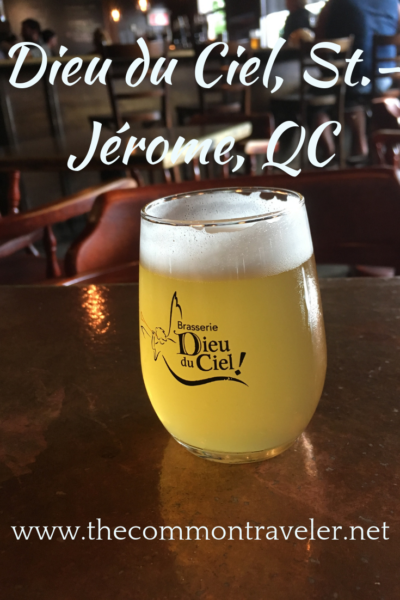 Visiting St. Jerome, Quebec, Canada? This micro-brewery will fill you with delicious craft beer and tasty morsels.