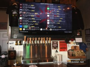 Levante Untappd menu and taps