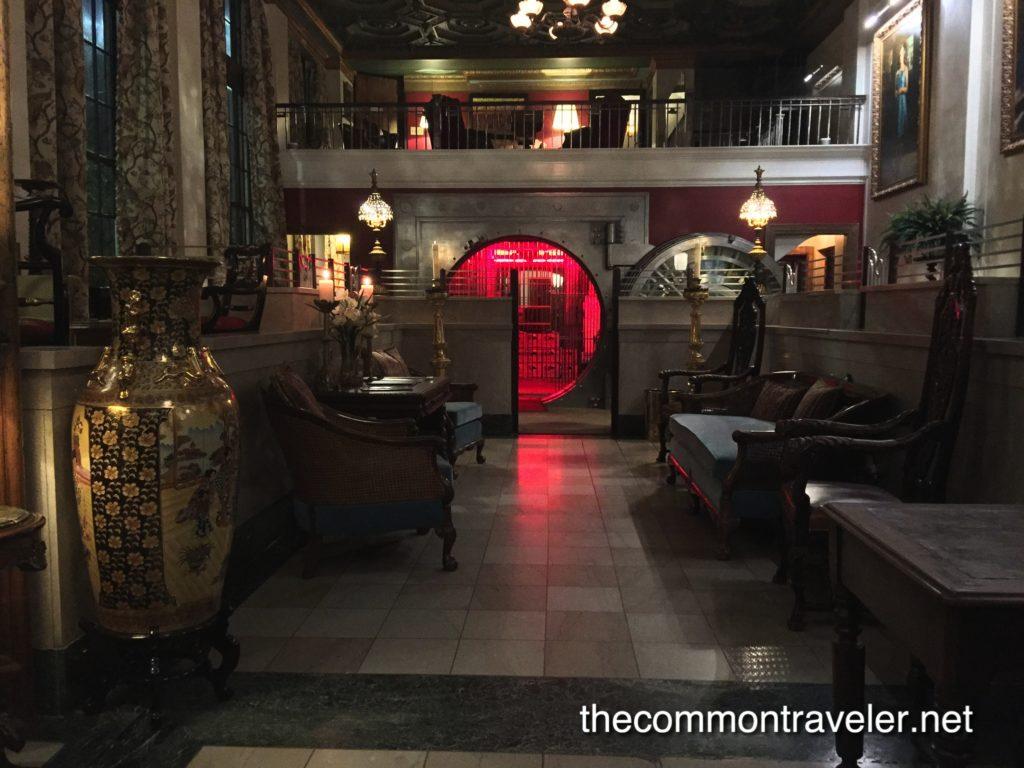 O'Neil Hotel lobby