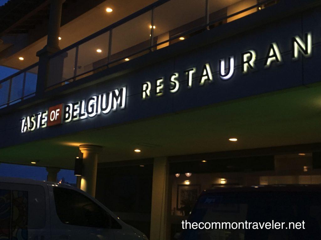 Taste of Belgium, Aruba Restaurant