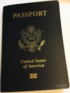 Aruba US Passport cover