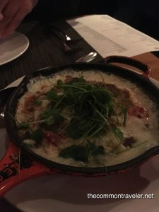 grits at Chef and The Farmer