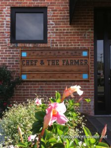Chef and The Farmer sign
