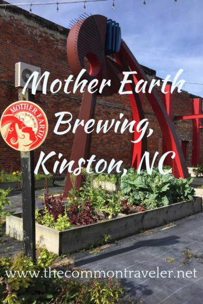 Giving back to our planet - Mother Earth Brewing in Kinston, NC. #craftbeer #visitnc #kinston