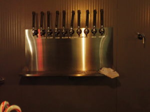 taps at East Branch Brewing