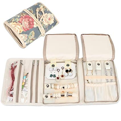 Mother's Day Gift - jewelry case with flowers cover