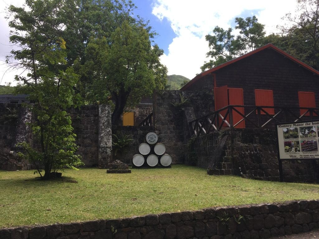 The Best Things to Do in St Kitts During a Port Day featured by top travel blog, The Common Traveler: barrels in 17th century remains of rum distillery in St. Kitts