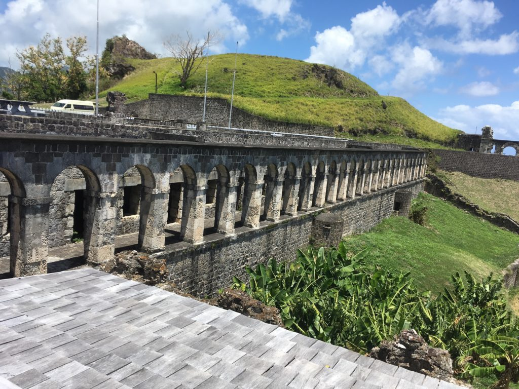 The Best Things to Do in St Kitts During a Port Day featured by top travel blog, The Common Traveler: Brimstone Hill Fortress in St. Kitts