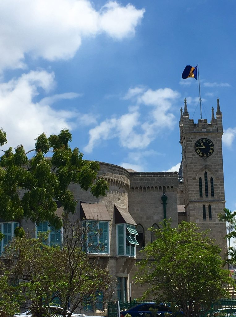 Unique Things to Do in Barbados on a Port Day featured by top US cruise blog, The Common Traveler: Barbados parliament building