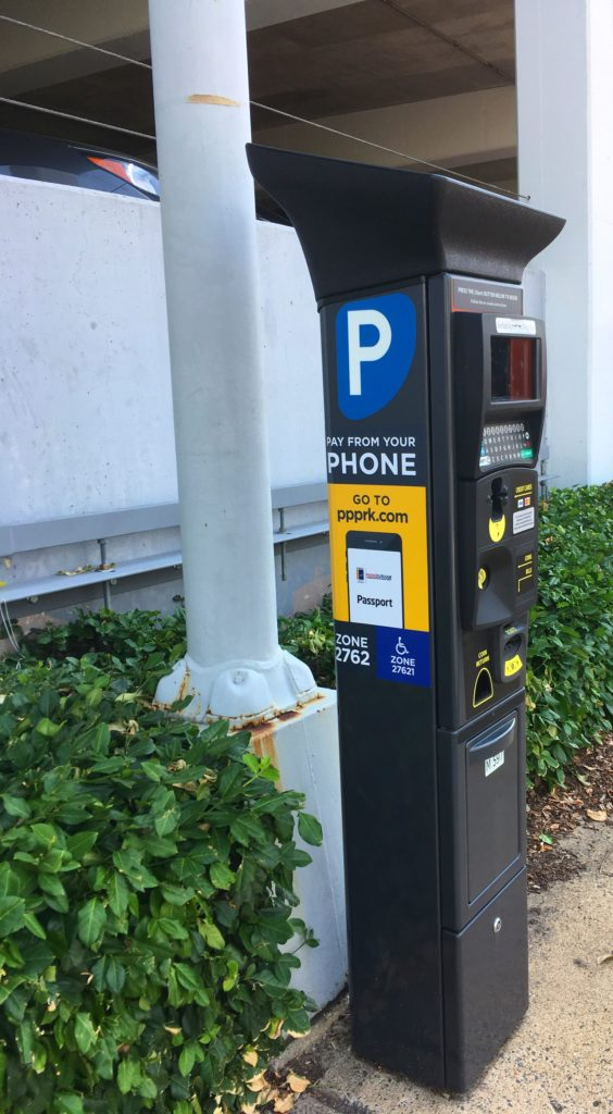 Durham parking meter