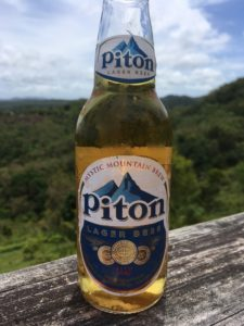 St. Lucia bottle of Piton Beer