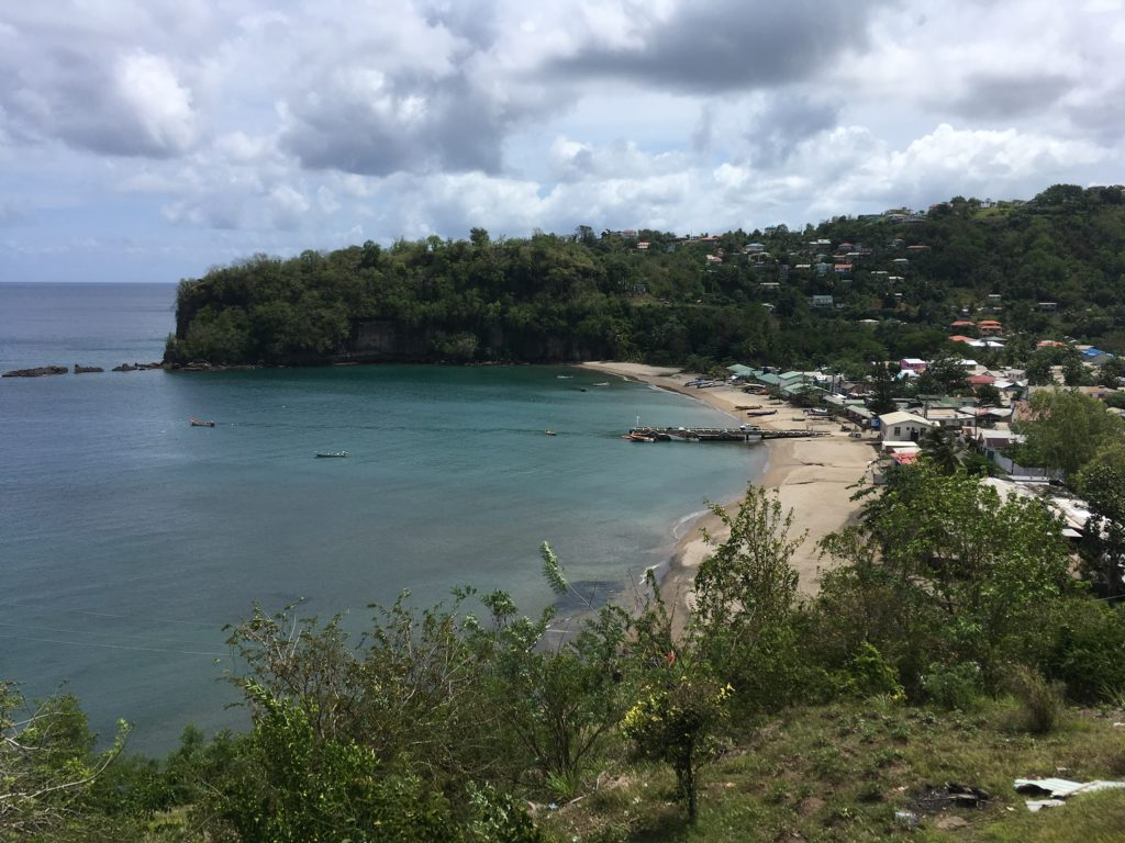 fishing village in St. Lucia