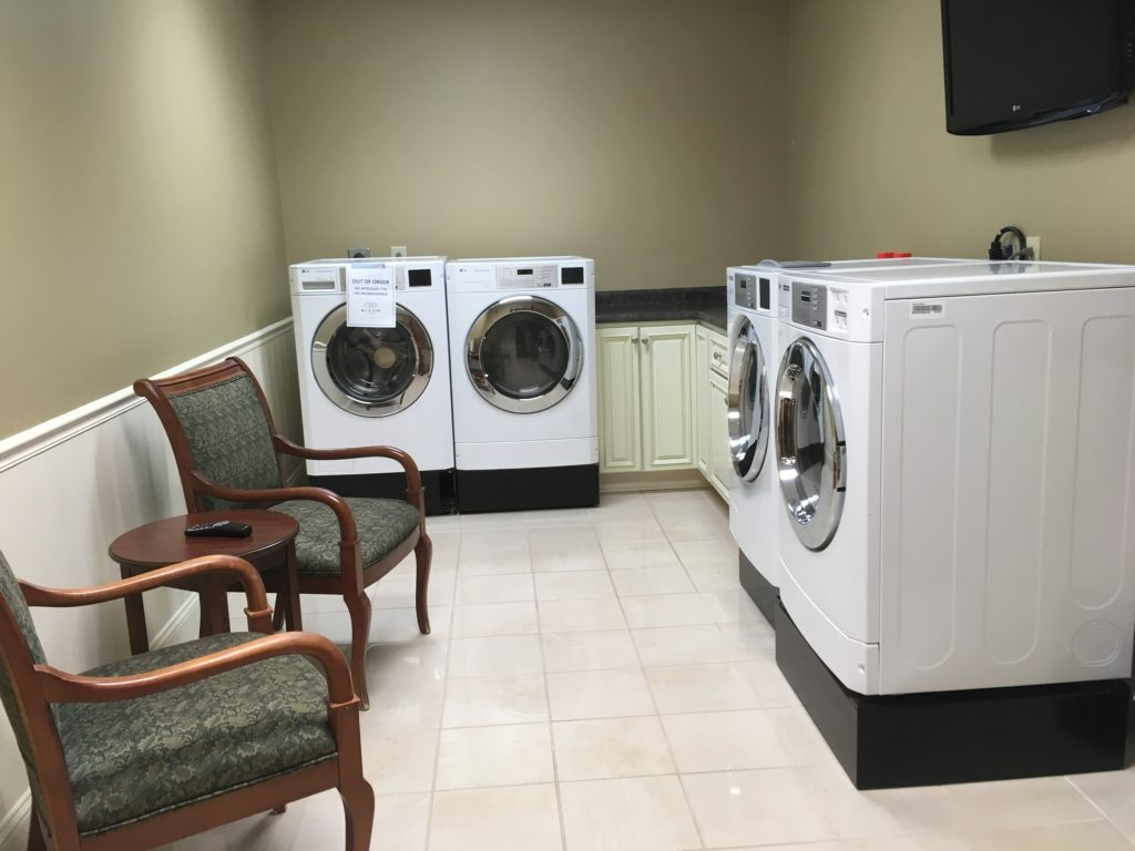 laundry facilities at Rizzo Center