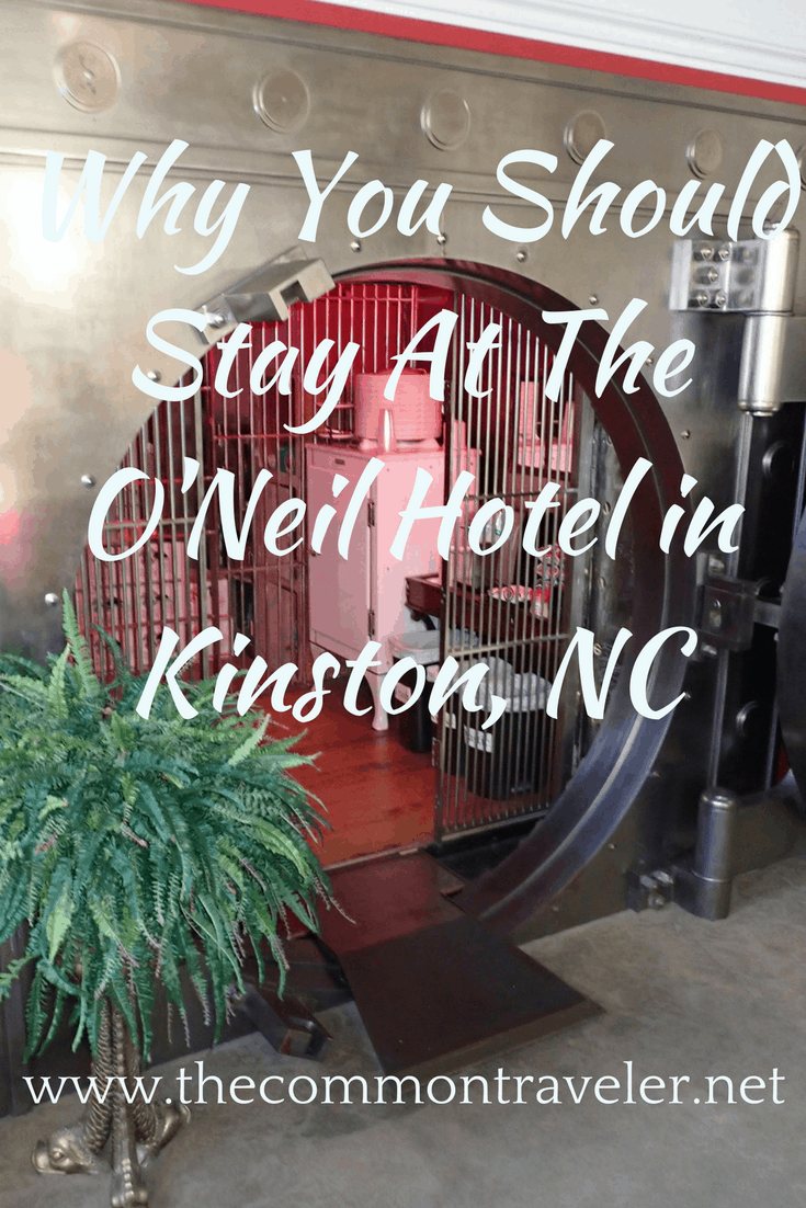 Review of the O'Neil hotel in Kinston, NC - a converted bank #oneil #kinstonnc