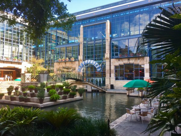 River Walk Rivercenter Mall in San Antonio, Texas