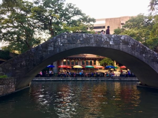10 Things to Do and See in San Antonio for the weekend, a travel guide featured by top US travel blog, The Common Traveler: bridge over San Antonio River Walk