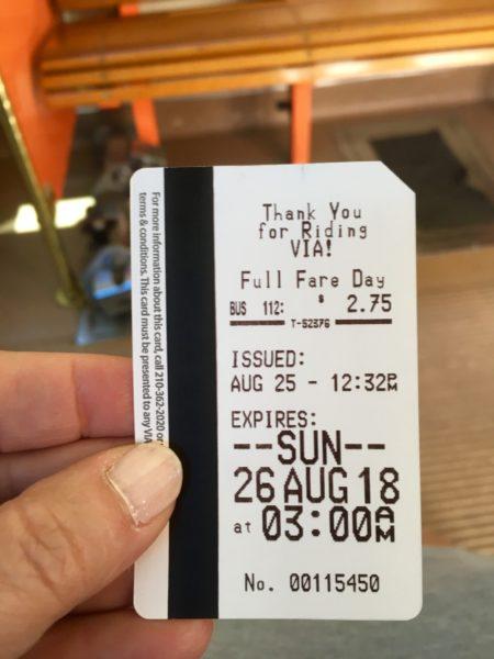 VIVA San Antonio Review featured by top travel blog, The Common Traveler: San Antonio Viva day pass ticket