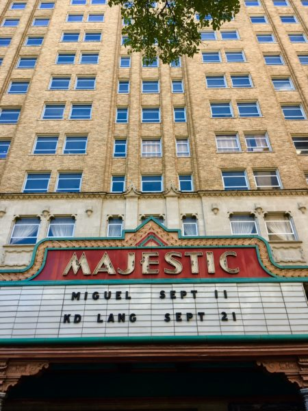 10 Things to Do and See in San Antonio for the weekend, a travel guide featured by top US travel blog, The Common Traveler: facade of Majestic theater in San Antonio