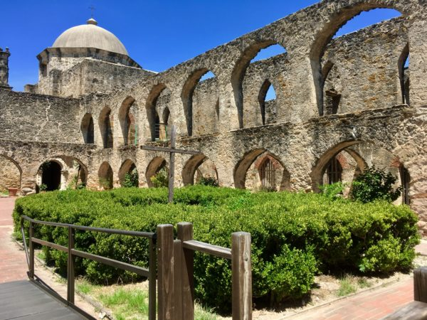 VIVA San Antonio Review featured by top travel blog, The Common Traveler: San Antonio stone building with archways