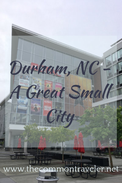 Durham, NC - A Great Small City: There are so many great things to appreciate in Durham. No wonder it is so frequently on lists of up and coming cities!