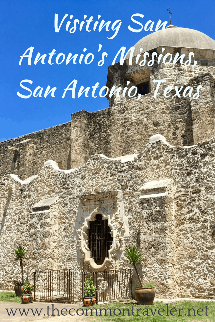 Tips for visiting San Antonio Missions shared by top US travel blog, The Common Traveler: San Antonio's Missions Don't miss San Antonio's Missions - a UNESCO World Heritage Site! #sanantonio #missions #UNESCO