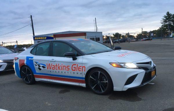 pace car at Watkins Glen International speedway