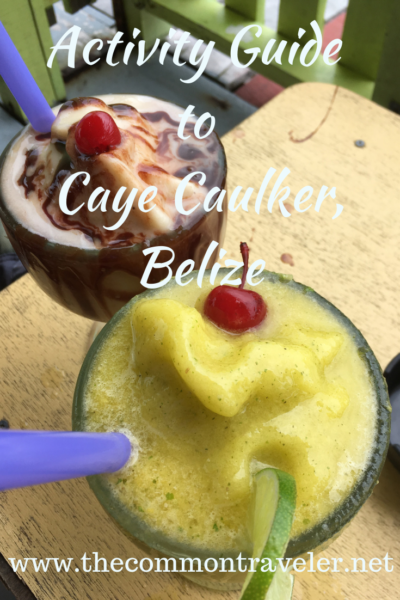 Ultimate guide to what to do in Caye Caulker, Belize. #cayecaulker #belize