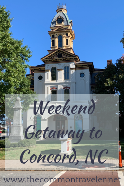 The best things to do in Concord NC in a weekend featured by top travel blog, The Common Traveler: There is so much to do in Concord, North Carolina. Find some great activities to enjoy a getaway weekend.