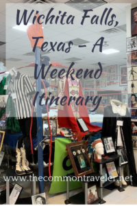 Wichita Falls Texas Itinerary featured by top travel blog, The Common Traveler: Visiting Sheppard AFB or Wichita Falls, Texas? Here is a list of some things to do and see.