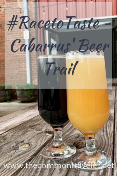 Follow Cabarrus, North Carolina's beer trail for unique small craft brewing deliciousness! #racetotaste