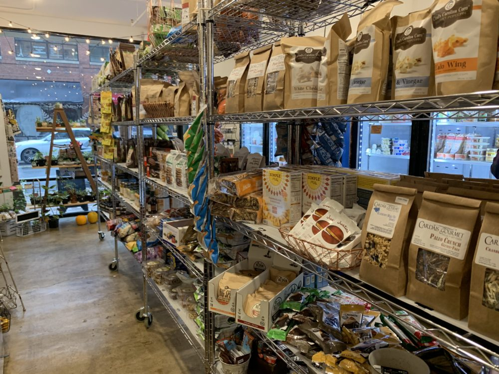 The best things to do in Concord NC in a weekend featured by top travel blog, The Common Traveler: inside of local market shop in downtown Concord, NC