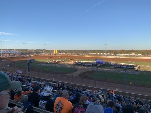 dirt track for World of Outlaws in Concord
