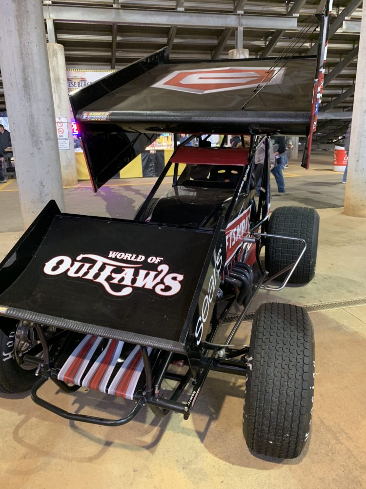 World of Outlaws race car